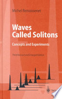 Waves Called Solitons Book PDF