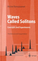 Waves Called Solitons ebook