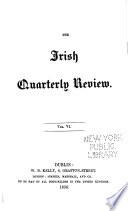 The Irish Quarterly Review Book