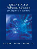 Essentials of Probability and Statistics for Engineers and Scientists