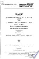 Nuclear Regulatory Commission Oversight