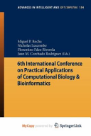 6th International Conference on Practical Applications of Computational Biology   Bioinformatics
