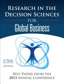 Research in the Decision Sciences for Global Business Pdf/ePub eBook