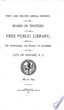 Annual Report Of The Board Of Trustees Of The Free Public Library