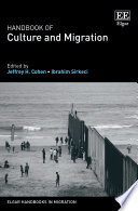 Handbook of Culture and Migration