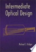 Intermediate Optical Design Book