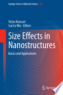 Size Effects in Nanostructures