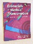 Essentials Of Medical Transcription