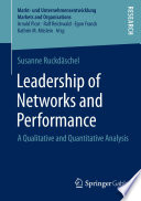 Leadership of Networks and Performance Book