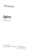Spies Book PDF