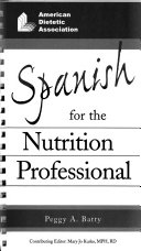 Spanish for the Nutrition Professional Book PDF