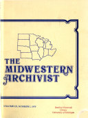 Midwestern Archivist