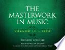 The Masterwork in Music  Volume III  1930