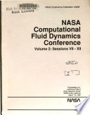 Nasa Computational Fluid Dynamics Conference Volume 2 Sessions 7 12 Book PDF
