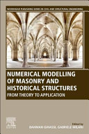 Numerical Modelling of Masonry and Historical Structures