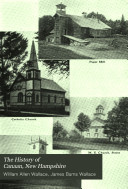 The History of Canaan  New Hampshire