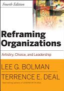 Reframing Organizations  CafeScribe