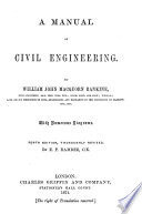 A Manual of civil Engineering0