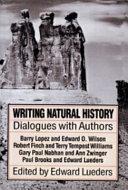 Writing Natural History