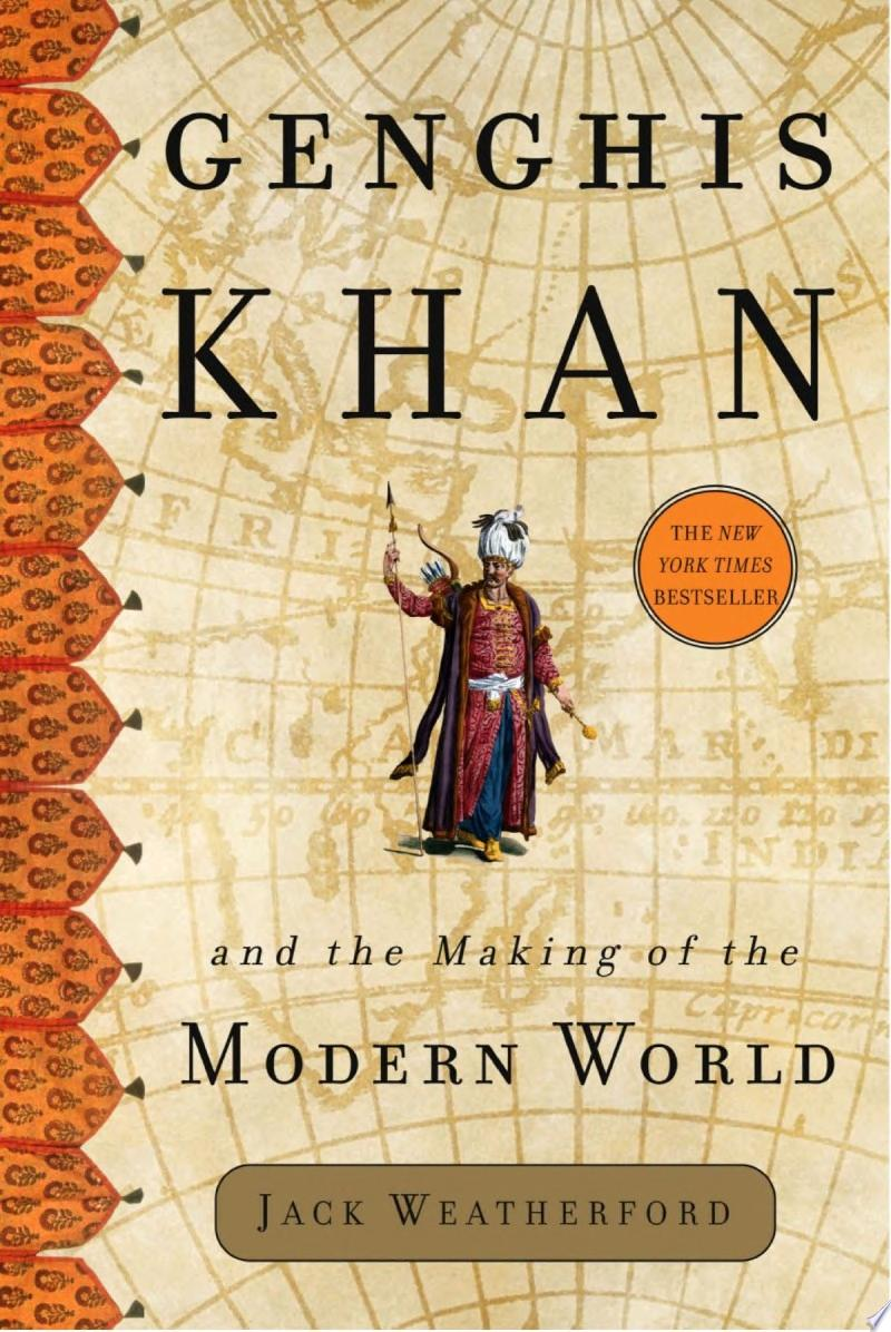 Genghis Khan and the Making of the Modern World banner backdrop