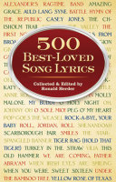 Pdf 500 Best-Loved Song Lyrics