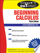 Schaum's Outline Of Calculus [Pdf/ePub] eBook