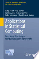 Applications in statistical computing