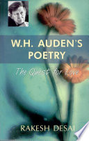 W.h. Audens PoetryThe Quest For Love