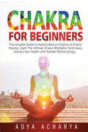 Chakra for Beginners Book