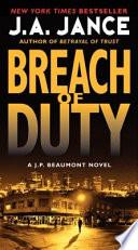 Breach of Duty  : A J. P. Beaumont Novel