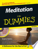 """Meditation For Dummies®"" by Stephan Bodian, Dean Ornish"