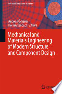 Mechanical and Materials Engineering of Modern Structure and Component Design Book