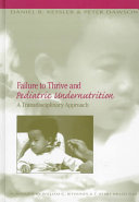 Failure to Thrive and Pediatric Undernutrition