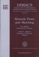 Network Flows and Matching