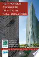 Reinforced Concrete Design of Tall Buildings Book