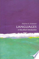 Languages A Very Short Introduction