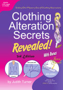 Clothing Alteration Secrets Revealed 3rd Edition