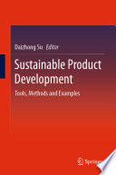 Sustainable Product Development Book
