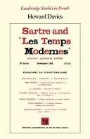 Sartre and  Les Temps Modernes