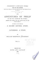 Thackeray s Complete Works  The adventures of Philip  Catherine Book