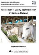 Assessment of Quality Beef Production in Northern Thailand