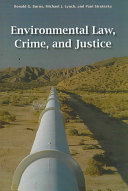 Environmental Law Crime And Justice Book PDF