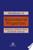 Handbook Of Biomaterial Properties Book PDF