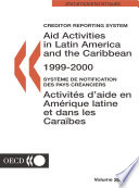 Aid Activities In Latin America And The Caribbean 2001