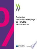 Comptes nationaux des pays de l'OCDE, Volume 2020 Numéro 2 Tableaux détaillés