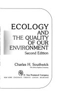 Ecology and the Quality of Our Environment