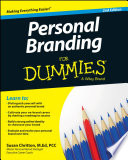"""""""Personal Branding For Dummies"""" by Susan Chritton"""