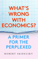 What's Wrong with Economics? Pdf/ePub eBook