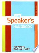 The speakers handbook jo sprague douglas stuart david bodary the speakers handbook jo spraguedouglas stuart limited preview 2007 fandeluxe Gallery