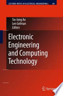 Electronic Engineering And Computing Technology Book PDF